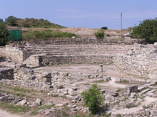 Античный театр в Херсонесе 2