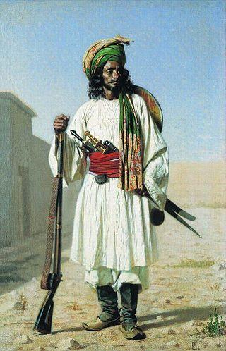 Афганец, 1867-1868