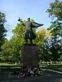 Братська могила радянських воїнів (Новоархангельск, вул Леніна)!.JPG