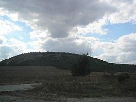 Гора либекир вид с востока