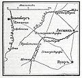 Карта к статье «Гольдберг». Военная энциклопедия Сытина (Санкт-Петербург, 1911-1915).jpg
