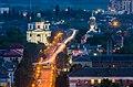 Костел Іоанна Предтечі на Замковій горі, Біла Церква, вечірній вид.jpg