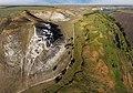 Крейдянi Білокузьминівські скелі з висоти 200 метрів.jpg