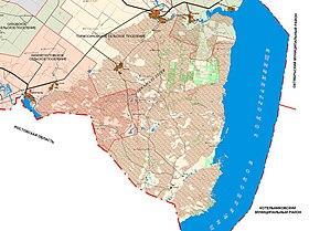 Карта Ростовской Области Чернышковский
