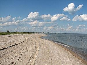 National Parks of Ukraine - Image: Побережье в районе села Новопетровка 16