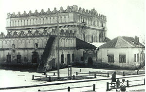 Liuboml - Liuboml Synagogue before the Holocaust, historic photograph