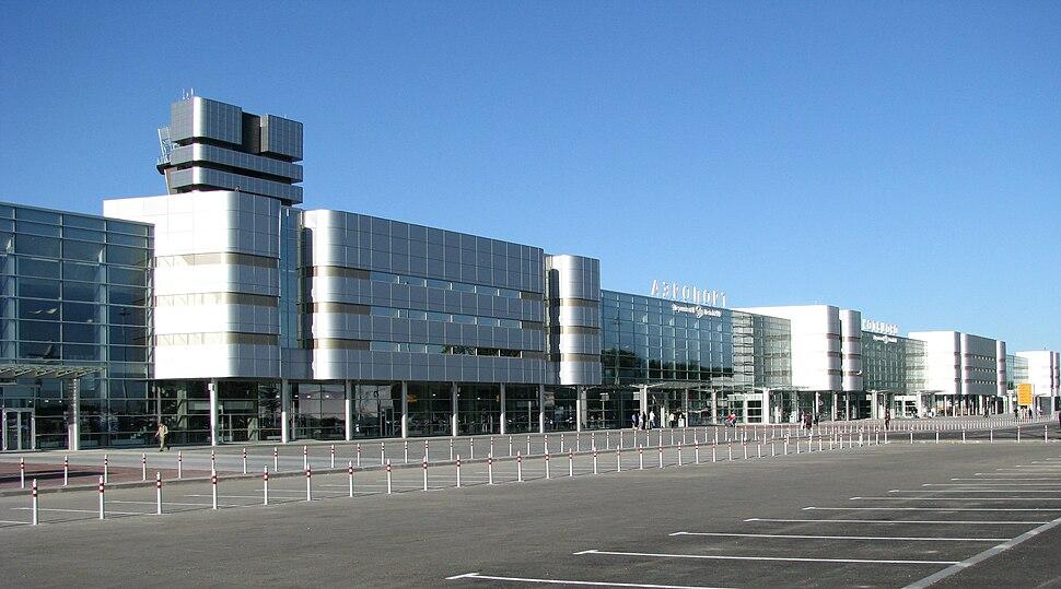 Терминалы A и B аэропорта Кольцово