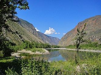 Ulagansky District - Chulyshman River area, a protected area of Russia in Ulagansky District