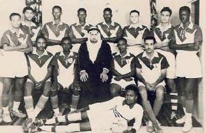 Al-Ahli Saudi FC - Al-Ahli's squad, picture taken in 1950