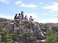 ハイキング 白滝山八畳岩 - panoramio.jpg