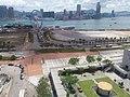 中環 Central 愛丁堡廣場 Edinburgh Place 維多利亞港 Victoria Harbour view from 大會堂高座 City Hall June 2019 SSG 02.jpg