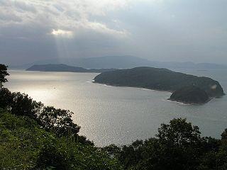Tomogashima island group in Wakayama, Japan