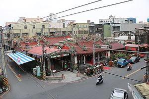 Yilan County, Taiwan - Yilan City, the county seat of Yilan County