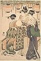 藤棚下の遊女たち-Courtesans Beneath a Wisteria Arbor (Fuji dana shita no yūjo tachi) MET DP135588.jpg