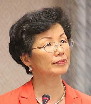 Mainland Affairs Council - Katharine Chang, the incumbent Minister of MAC.