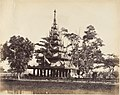 -Burmese Pagoda in the Eden Gardens, Calcutta- MET DP147441.jpg