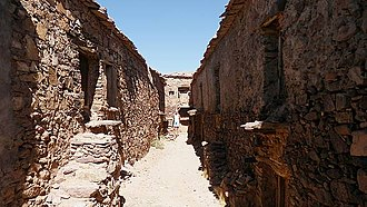 Irherm - The fortified storehouse (agadir) of Irherm