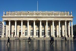 Grand Théâtre de Bordeaux - The Grand Théâtre de Bordeaux.