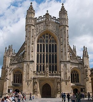 Bath and North East Somerset - Bath Abbey.