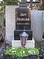 080 Cementiri de Vyšehrad, Jan Neruda, escriptor.jpg