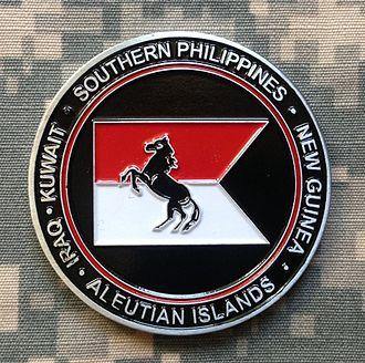 153rd Cavalry Regiment - 1-153 Cavalry Challenge Coin, 2013