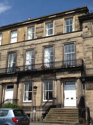 David Masson - 10 Regent Terrace, Edinburgh