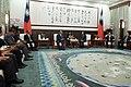 11.21 總統接見帛琉共和國眾議院議長安薩賓訪問團,期盼未來繼續與帛琉攜手合作,促進兩國的永續發展,為世界做出更多貢獻 (38524717222).jpg