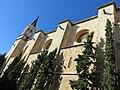 116 Basílica de Santa Maria (Vilafranca del Penedès), façana lateral.JPG
