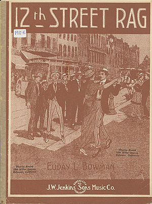 Twelfth Street Rag - 1915 sheet music cover
