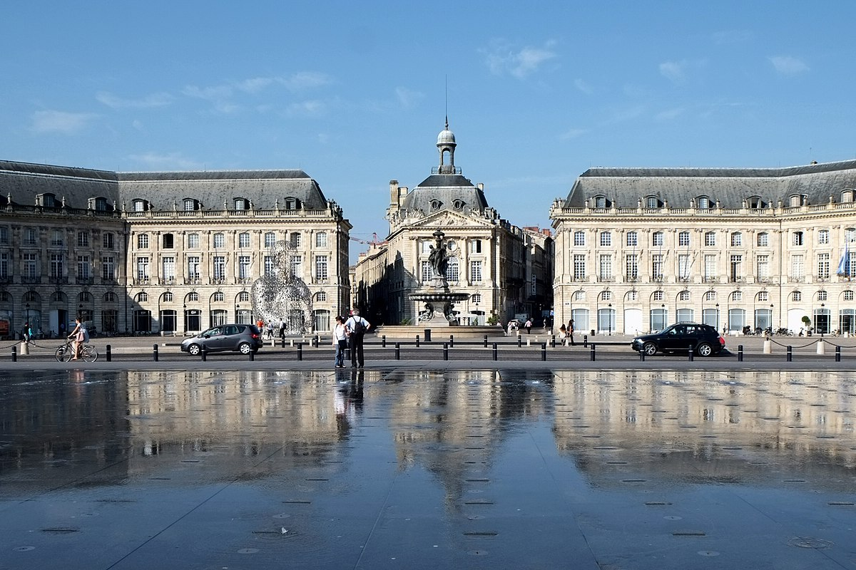 Bordeaux wikidata for Miroir bordeaux