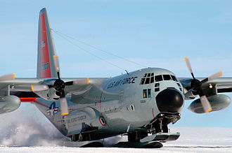 109th Airlift Wing - Image: 139th Airlift Squadron Lockheed LC 130H Hercules 93 3300