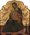 14th-century unknown painters - The Virgin of Humility with Angels and Donor - WGA23906.jpg