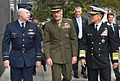 151013-D-VO565-006 Air Chief Marshal Mark Binskin, Australian Chief of the Defense, U.S. Marine Gen. Joseph F. Dunford Jr., chairman of the Joint Chiefs of Staff, and U.S. Navy Adm. Harry Harris.jpg