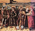 15th-century unknown painters - Sts Anne, Christopher, Gereon and Peter - WGA23741.jpg