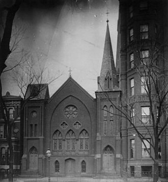 Francis James Grimké - Fifteenth Street Presbyterian Church in Washington, DC, once led by Grimké. The church is shown here as it was in about 1899.