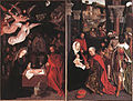 16th-century unknown painters - Adoration of the Shepherds and Adoration of the Magi - WGA23603.jpg