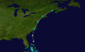1861 Atlantic hurricane 5 track.png