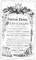1871 FrenchHotel LouisPOber ad NewtonMA Directory.png