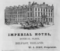 1885 Imperial Hotel Belfast ad Harpers Handbook for Travellers in Europe.png