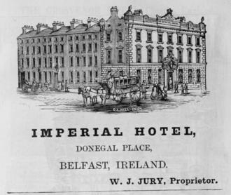 James Gwyn - Imperial Hotel Belfast, 1885