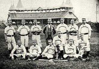 St. Louis Maroons/Indianapolis Hoosiers - 1888 Indianapolis Hoosiers