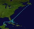 1895 Atlantic tropical storm 3 track.png