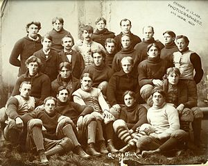 1895 Michigan Wolverines football team - Image: 1895 Michigan football team