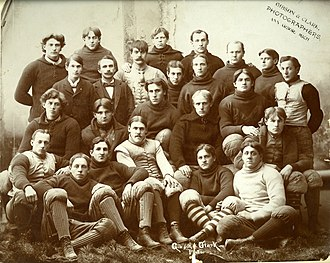 1895 Michigan Wolverines football team - Image: 1895 Michigan football team
