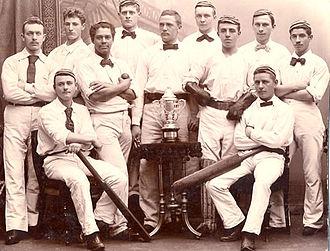 Boldklubben Frem - Cricket squad, 1898.