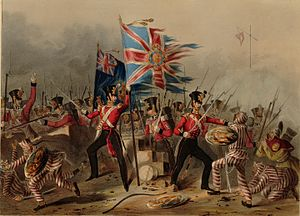 Irish military diaspora - The Royal Irish regiment in the Battle of Amoy in China, 26 August 1841