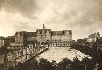Gdańsk University of Technology - Main building in 1904