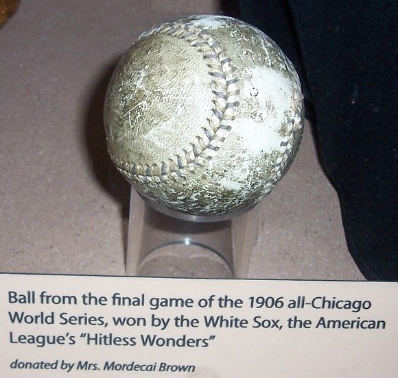 1906 World Series ball