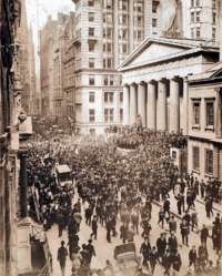 Wall Street, Bankers Panic of 1907