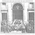 1909-01-20, Actualidades, Funerales por las víctimas de los terremotos, Goñi.jpg